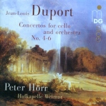 CD Duport - Concertos for Cello and Orchestra