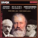CD Brahms and his friends Vol. I